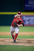 Altoona Curve relief pitcher Buddy Borden (29) delivers a pitch during a game against the Binghamton Rumble Ponies on May 17, 2017 at NYSEG Stadium in Binghamton, New York.  Altoona defeated Binghamton 8-6.  (Mike Janes/Four Seam Images)