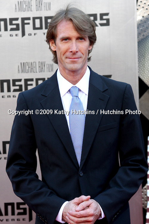"Michael Bay arriving at the ""Transformers: Revenge of the Fallen"" Premiere at the Mann's Village Theater in Westwood, CA  on June 22, 2009.  .©2009 Kathy Hutchins / Hutchins Photo"