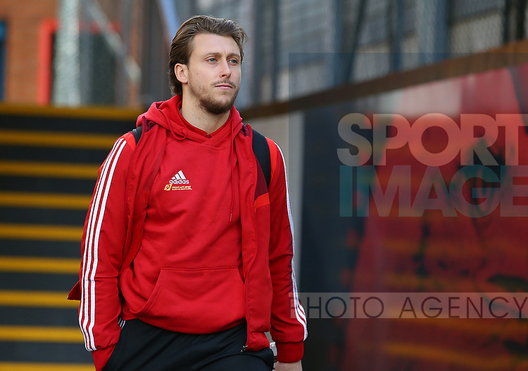 Sheffield United's Luke Freeman arrives ahead of the Premier League match at Selhurst Park, London. Picture date: 1st February 2020. Picture credit should read: Paul Terry/Sportimage