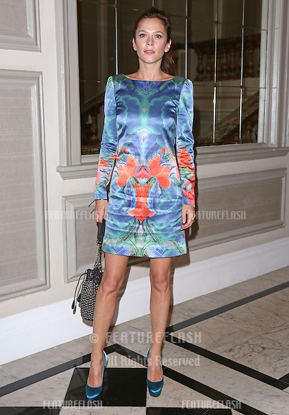 Anna Friel arriving at the Temperley catwalk show as part of London Fashion Week SS13, New Connaught Rooms, Covent Garden, London. 16/09/2012 Picture by: Henry Harris / Featureflash