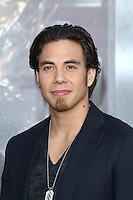 Apolo Anton Ohno at the film premiere of 'Battleship,' at the NOKIA Theatre at L.A. LIVE in Los Angeles, California. May, 10, 2012. © mpi20/MediaPunch Inc.