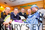Enable Ireland Kerry Services will hold a Cheltenham Preview night in the Fels Point Hotel on Monday March 2nd at 8.30pm. Launching the night on Friday morning were: Geraldine Harrington, Sean Scally (Enable Ireland Kerry Services), Alan Conway (Paddy Powers Rock Street), Pat Griffin Radio Kerry Race Commentator) and Ger McElligott.
