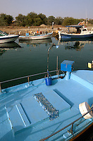 Zypern (Süd), Flussmündung Potamos bei Liopetriou