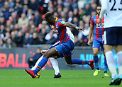 5th November 2017, Wembley Stadium, London England; EPL Premier League football, Tottenham Hotspur versus Crystal Palace; Timothy Fosu-Mensah of Crystal Palace tackles Harry Kane of Tottenham Hotspur
