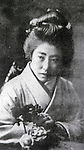 Undated - Hiroko Suehiro (1893-1963) was first winner of Beauty contest in Japan. That was held in 1908 as Japan preliminary of 'Miss World' sponsored by The Chicago Tribune. Then she was 16 years old.  (Photo by Kingendai Photo Library/AFLO)