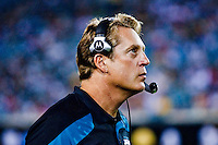 August 19, 2011:  Jacksonville Jaguars Jack Del Rio during pre season action between the Jacksonville Jaguars and the Atlanta Falcons at EverBank Field in Jacksonville, Florida.   Jacksonville defeated the Falcons 15-13.........