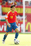 23 June 2006: Cesc Fabregas (ESP). Spain defeated Saudi Arabia 1-0 at Fritz-Walter Stadion in Kaiserslautern, Germany in match 47, a Group H first round game, of the 2006 FIFA World Cup. With the win, Spain goes through as the top team in Group H, while Saudi Arabia is eliminated with the loss.