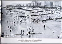 BNPS.co.uk (01202 558833)<br /> Pic: PhilYeomans/BNPS<br /> <br /> Eastbourne - the Nazi's paid particular attention to beaches and harbours.<br /> <br /> Chilling - Hitlers 'How to' guide to the invasion of Britain.<br /> <br /> A remarkably detailed invasion plan pack of Britain has been unearthed to reveal how our genteel seaside resorts would have been in the front line had Hitler got his way in World War Two.<br /> <br /> The Operation Sea Lion documents, which were issued to German military headquarters' on August 1, 1940, contain numerous maps and photos of every town on the south coast.<br /> <br /> They provide a chilling reminder of how well prepared a German invading force would have been had the Luftwaffe not been rebuffed by The Few in the Battle of Britain.<br /> <br /> There is a large selection of black and white photos of seaside resorts and notable landmarks stretching all the way from Land's End in Cornwall to Broadstairs in Kent.<br /> <br /> The pack also features a map of Hastings, raising the possibility that a second battle could have been staged there, almost 900 years after the invading William The Conqueror triumphed in 1066.