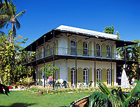 USA, Florida, Key West, Hemmingway House (Museum) | USA, Florida, Key West, Hemmingway House (Museum)