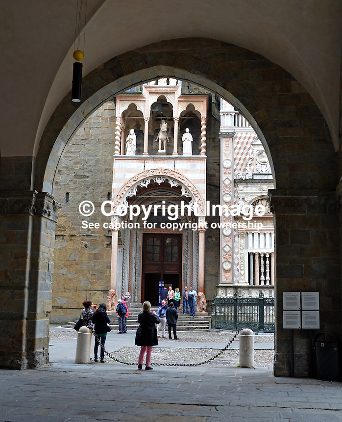 Entrance, Cattedrale di Bergamo e Battistero, Bergamo, Italy, 20110073794<br />