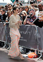 Marion Cotillard signing autographs during the 66th Cannes Film Festival - Cannes