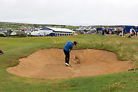 Niklas Lemke (SWE) on the 18th during the 3rd round of the Dubai Duty Free Irish Open, Lahinch Golf Club, Lahinch, Co. Clare, Ireland. 06/07/2019<br /> Picture: Golffile | Thos Caffrey<br /> <br /> <br /> All photo usage must carry mandatory copyright credit (© Golffile | Thos Caffrey)