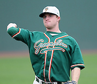 April 19, 2009: Infielder Paul Gran (15) of the Greensboro Grasshoppers, Class A affiliate of the Florida Marlins, in a game against the Greenville Drive at Fluor Field at the West End in Greenville, S.C. Photo by: Tom Priddy/Four Seam Images