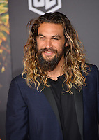 Jason Momoa at the world premiere for &quot;Justice League&quot; at The Dolby Theatre, Hollywood. Los Angeles, USA 13 November  2017<br /> Picture: Paul Smith/Featureflash/SilverHub 0208 004 5359 sales@silverhubmedia.com