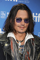 Johnny Depp at the Toronto Film Festival - Canada