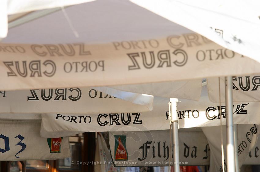 sun shades cais da ribeira porto portugal