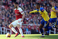 Sead Kolasinac of Arsenal and Yan Valery of Southampton during Arsenal vs Southampton, Premier League Football at the Emirates Stadium on 24th February 2019