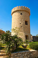 Guard Tower, Cres Town, Cres Island, Croatia