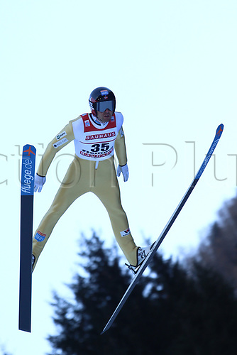 12th January 2018, Val di Fiemme, Fiemme Valley, Italy; FIS Nordic Combined World Cup, Mens Gundersen; Magnus Hovdal Moan (NOR)