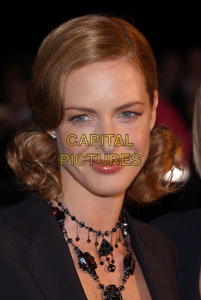 TRINNY WOODALL .arrives at Albert Hall for the National Television Awards 2002.Ref: PL.www.capitalpictures.com.sales@capitalpictures.com.©Capital Pictures.hair