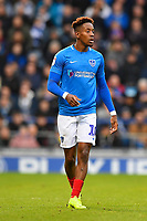 Jamal Lowe of Portsmouth during Portsmouth vs Blackpool, Sky Bet EFL League 1 Football at Fratton Park on 12th January 2019