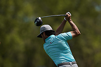 Abraham Ancer (MEX) on the 12th tee during the 3rd round at the PGA Championship 2019, Beth Page Black, New York, USA. 18/05/2019.<br /> Picture Fran Caffrey / Golffile.ie<br /> <br /> All photo usage must carry mandatory copyright credit (© Golffile | Fran Caffrey)