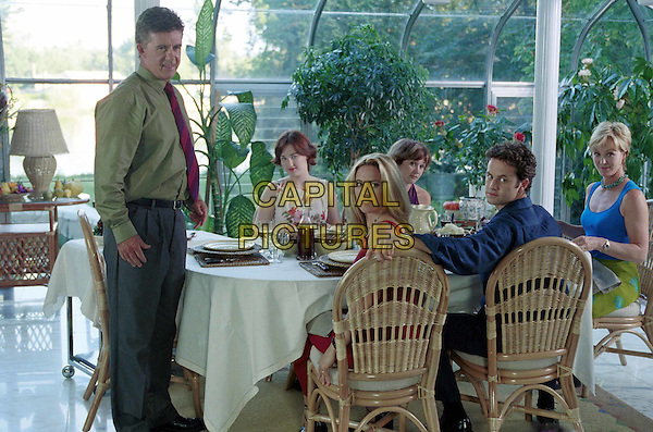 ALAN THICKE, ASHLEY JOHNSON, CHELSEA NOBLE, TRACEY GOLD, KIRK CAMERON & JOANNA KERNS.in The Growing Pains Movie.Ref: FB.*Editorial Use Only*.www.capitalpictures.com.sales@capitalpictures.com.Supplied by Capital Pictures.