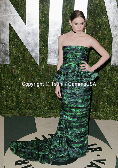 Christa B Allen_109  arriving at the Vanity Fair Oscar  Party 2012 - at the Sunset Tower Hotel in Los Angeles.