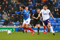 Marcus Harness of Portsmouth on the ball  during Portsmouth vs Shrewsbury Town, Sky Bet EFL League 1 Football at Fratton Park on 15th February 2020
