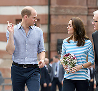 William and Kate in Germany 072017