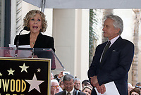 Hollywood, CA - November 06 Jane Fonda, Michael Douglas, Attends Michael Douglas Honored With Star On The Hollywood Walk Of Fame on November 06, 2018. <br /> CAP/MPI/FS<br /> &copy;FS/MPI/Capital Pictures