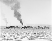 D&amp;RGW #484 and #488 with spreader/flanger train westbound west of Antonito.<br /> D&amp;RGW  w. of Antonito, CO