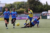 Stelios Demetriou of Haringey during Haringey Borough vs Herne Bay, Emirates FA Cup Football at Coles Park Stadium on 7th September 2019