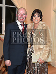 Timmy and Pauline O'Callaghan at the Baile Atha Fherdia Traders Awards in the Nuremore hotel Carrickmacross. Photo:Colin Bell/pressphotos.ie