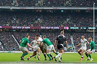 Twickenham, United Kingdom.   Natwest 6 Nations : England vs Ireland. Ben TE'O, at the  RFU Stadium, Twickenham, England, <br /> <br /> Saturday   17.03.18<br /> <br /> [Mandatory Credit; Peter Spurrier/Intersport-images]