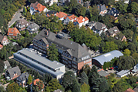4415/Hansa Gymnasium Bergedorf : EUROPA, DEUTSCHLAND, HAMBURG, (EUROPE, GERMANY), 06.09.2007: Bergedorf, Hansa Gymnasium, Schule, Bau, Gebaeude, alte Schule, ehrwuerdig, Geschichte, Penne, schoene Lage, Luftbild, Luftansicht, Air, Aufwind-Luftbilder..c o p y r i g h t : A U F W I N D - L U F T B I L D E R . de.G e r t r u d - B a e u m e r - S t i e g 1 0 2, .2 1 0 3 5 H a m b u r g , G e r m a n y.P h o n e + 4 9 (0) 1 7 1 - 6 8 6 6 0 6 9 .E m a i l H w e i 1 @ a o l . c o m.w w w . a u f w i n d - l u f t b i l d e r . d e.K o n t o : P o s t b a n k H a m b u r g .B l z : 2 0 0 1 0 0 2 0 .K o n t o : 5 8 3 6 5 7 2 0 9.C o p y r i g h t n u r f u e r j o u r n a l i s t i s c h Z w e c k e, keine P e r s o e n l i c h ke i t s r e c h t e v o r h a n d e n, V e r o e f f e n t l i c h u n g  n u r  m i t  H o n o r a r  n a c h M F M, N a m e n s n e n n u n g  u n d B e l e g e x e m p l a r !.