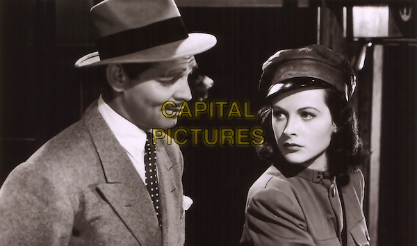 Clark Gable & Hedy Lamarr.in Comrade X.*Filmstill - Editorial Use Only*.CAP/PLF.Supplied by Capital Pictures.