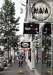 July 2014:  Central Reykjavik, Iceland.