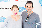 """Carola Baleztena and Emiliano Suarez attends to the morning premiere of the film """"Buscando a Dory"""" at Cines Kinepolis in Madrid. June 19. 2016. (ALTERPHOTOS/Borja B.Hojas)"""