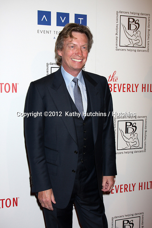 LOS ANGELES - MAR 18:  Nigel Lythgoe arrives at the Professional Dancer's Society Gypsy Awards at the Beverly Hilton Hotel on March 18, 2012 in Los Angeles, CA