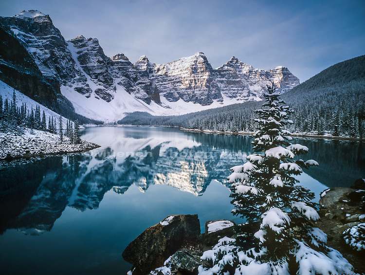 Lake Moraine,Valley of the Ten Peaks,Banff National Park, Canada AB