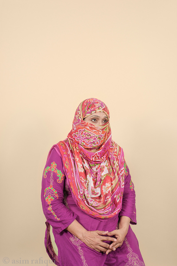 Nusrat Bibi, Basit Ali's mother.
