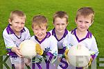 CU?l: Enjoying the GAA Cu?l Camp at Listowel Emmets were l-r: Brian McEnaney, Geroid Stack, Rory O'Sullivan, Finlay O'Brien.