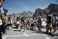 Mathias Frank (SUI/IAM) up the Col du Tourmalet (HC/2115m/17km/7.3%)<br /> <br /> st11: Pau - Cauterets (188km)<br /> 2015 Tour de France