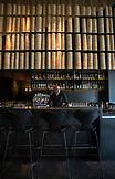ISRAEL, Tel Aviv, portrait of a bartender in Topolopompo restaurant