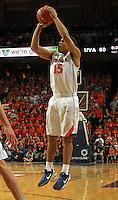 Virginia guard Malcolm Brogdon (15) during an NCAA basketball game Monday Jan. 20, 2014 in Charlottesville, VA. Virginia defeated North Carolina 76-61.