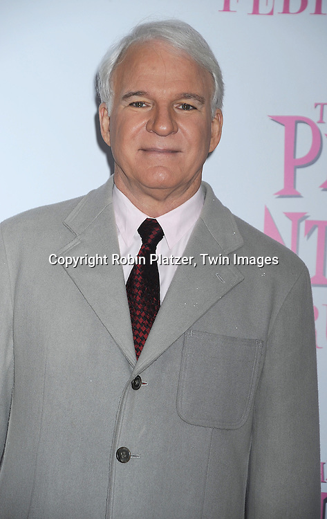 "Steve Martin..posing for photographers at The World Premiere of ""The Pink Panther 2 staring Steve Martin, Jean Reno, Emily Mortimer, Andy Garcia and Aishwarya Rai Bachchan on ..February 3, 2009 at The Ziegfeld Theatre in New York City. ....Robin Platzer, Twin Images"