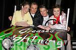 Sarah O'Carroll, Eoghain Sheehy, Liam Brick and Cassie McElligott who starred in Grease Mounthawks School play at Siamsa Tire on Tuesday evening.