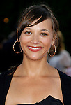 "Actress Rashida Jones arrives at the Los Angeles Premiere Of ""Tropic Thunder"" at the Mann's Village Theater on August 11, 2008 in Los Angeles, California."