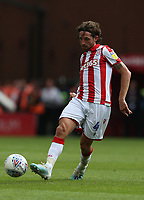 Stoke City's Joe Allen <br /> <br /> Photographer Stephen White/CameraSport<br /> <br /> The EFL Sky Bet Championship - Stoke City v Queens Park Rangers - Saturday 3rd August 2019 - bet365 Stadium - Stoke-on-Trent<br /> <br /> World Copyright © 2019 CameraSport. All rights reserved. 43 Linden Ave. Countesthorpe. Leicester. England. LE8 5PG - Tel: +44 (0) 116 277 4147 - admin@camerasport.com - www.camerasport.com